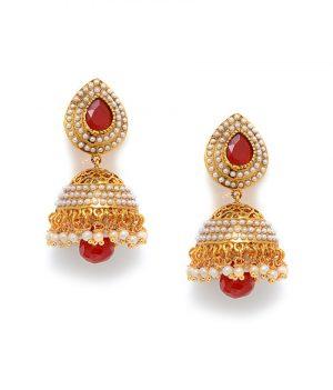Gold Party Wear Jhumki